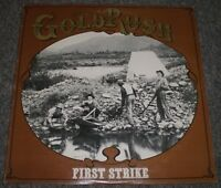 First Strike Gold Rush~AUTOGRAPHED by ENTIRE BAND~Private 1981 Bluegrass~FAST!!!