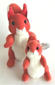 Deagostini My Animal Kingdom Squirrel Set Sally and Susie With Tags
