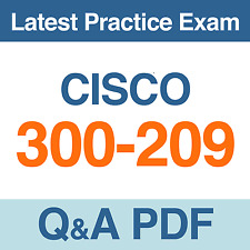 Implementing Cisco Secure Mobility Solutions Practice Test 300-209 Exam Q&A PDF