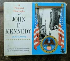 JFK President John F. Kennedy - 42 card Pictorial Biography