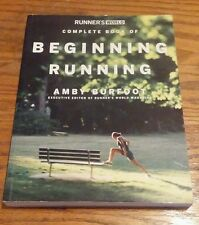 Runner's World Complete Book of Beginning Running by Amby Burfoot (2005,...