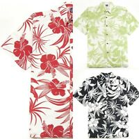 Hibiscus Collection Men's Hawaiian Aloha Shirt - Hibiscus Print