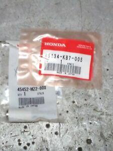 Honda 45452-MZ2-000 COLLAR, Pivot + 2x 45134-kb7-005