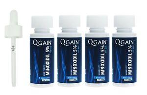 Qgain High Purity Minoxidil 5% for MEN 4 month supply  4 x 60mL bottles