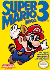 Super Mario Bros. 3 Nintendo NES Video Games