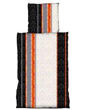 Nicky Teddy Plüsch Bettwäsche Coralfleece 135x200 cm beige schwarz Superflausch
