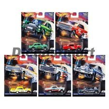 Hot Wheels 1:64 Car Culture 2018 Drag Strip Demons Set of 5 Cars FPY86-956F New
