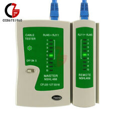 Cable Tester Hand-held for RJ11 RJ45 Cat5e Cat6 Network Lan Telephone Test Tool