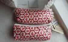 2 x Vagabond Rosie Small Cosmetics Toiletries Bag 20cm x 10cm x 6cm
