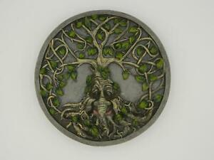 Greenman Tree of Life Wall Plaque/Tree Ent/Magick/Pagan/Wicca/Witch