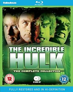INCREDIBLE HULK THE COMPLETE COLLECTION [DVD][Region 2]