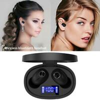 Mini Tws 5.0 Bluetooth Wireless Kopfhörer Stereo Sound Ohrhörer Charging