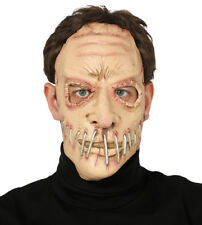Zombie Mask Fancy Dress Costume Face Maske Halloween Staple Horror Masque NEW