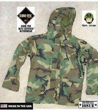 US Army ECWCS Cold Weather PARKA woodland camouflage Jacke Jacket Medium Long