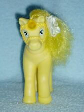 Vintage Buddy L Corp - Yellow Pony - Blue Saddle & Yellow Molded Bridle
