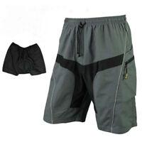 Men's Cycling Baggy Loose Shorts Casual Bicycle Short Pants MTB Mountain Bike