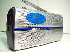Brand NEW GRUNDIG Music Boy- AM FM SW Radio Built-In 110V AC + Battery NIB