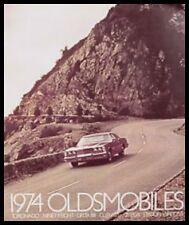 New Listing1974 Oldsmobile Prestige Color Brochure Cutlass 88 98