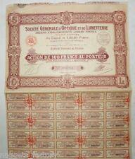 Action ancienne : Sté Générale d'Optique et de Lunetterie  ( 536 )
