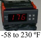 Fahrenheit Temperature Controller Thermostat Water Heater Solar System Panel