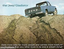Truck Brochure - Kaiser - Jeep - Gladiator - Seen in Worst Places - 1964 (T1324)