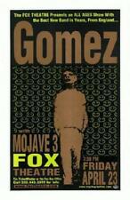 GOMEZ MOJAVE 3 BOULDER COLORADO CONCERT POSTER 2000