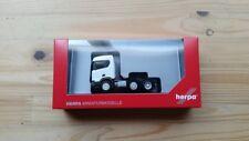 Herpa 309028 - 1/87 Scania Cr Xt Niederdach Bau-Zugmaschine 3-Achs - Weiss - Neu