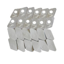12PK C-L2 plastic left handed arrow rest for recurve bow in white color