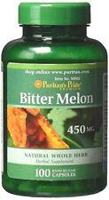 Puritan's Pride Bitter Melon 450 mg 100 Capsules
