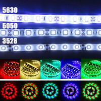 5M SMD RGB 5050/3528/5630 60LED/M 300LEDs Cold/Warm White Strip Light Waterproof