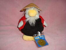 "Disney Club Penguin sensei in Ladybug outfit Series 9 Plush 7.5"" With Coin"