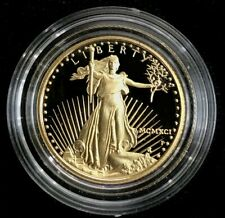 1991 P US 1/4 OZ GOLD $10 DOLLAR PROOF US EAGLE COIN IN CAPSULE