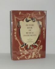 1942 'PICTURE BOOK OF MUSICAL INSTRUMENTS' by MARION LACEY; ILLUS by L. WEISGARD