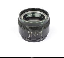 H Roussel Paris Kynor  3,5/50mm Black