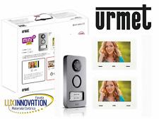 Kit videocitofono  urmet Bifamiliare intercomunicante 1722/87 1722/86 1722/85