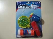 Buddy Bubble's Bubble Factory with bubbles Brand New & Sealed