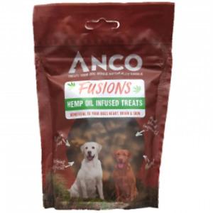 Anco Fusions Hemp Oil Infused Treats Dog Treats 100g