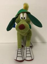 1997 Applause Looney Tunes Marvin the Martian K-9 Dog Plush Posable Tag