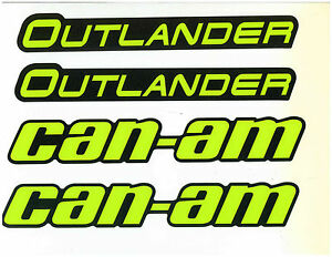 CAN-AM OUTLANDER MUDGUARD DECAL KIT 704905083