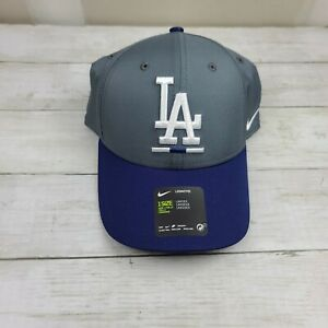 NIKE LA Dodgers Legacy91 Hat Grey Blue CZ3052 021 - New