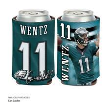 Carson Wentz Philadelphia Eagles Tin Coolers Nfl Football Can Cooler