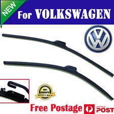 Pair wiper blade windscreen frameless for volkswagen vw golf IV 9/1998 - 05/2002