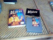 Deja Vu (Nintendo Entertainment System, 1990). Complete in Box. CIB. NES.