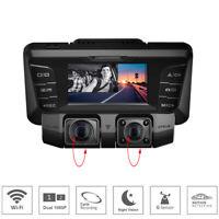 4K Wifi HD Car DVR Video Camera Dash Camera dual lens Vehicle Cam Recorder 1080P