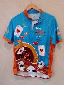Primal Cycling Jersey Mens BIKE MS Vegas 2017 Mens XL Multicolor Full Zip Riding
