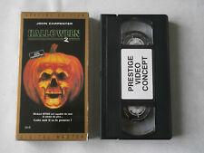 HALLOWEEN 2 VHS / film d'horreur / Cassette video / John Carpenter