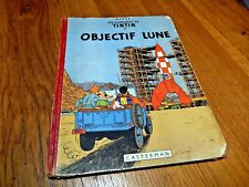 Tintin  Objectif Lune EO Belge B8 1953