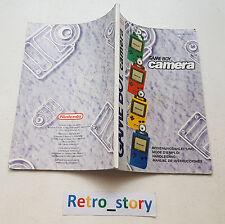 Nintendo Game Boy Camera Notice / Instruction Manual