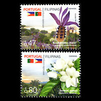 Portugal 2016 - Diplomatic Relations with the Philippines Flowers Flora - MNH