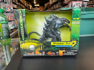 Godzilla Shatter Tail Electronic Action Figure with Power Strike Tail Slam MOC